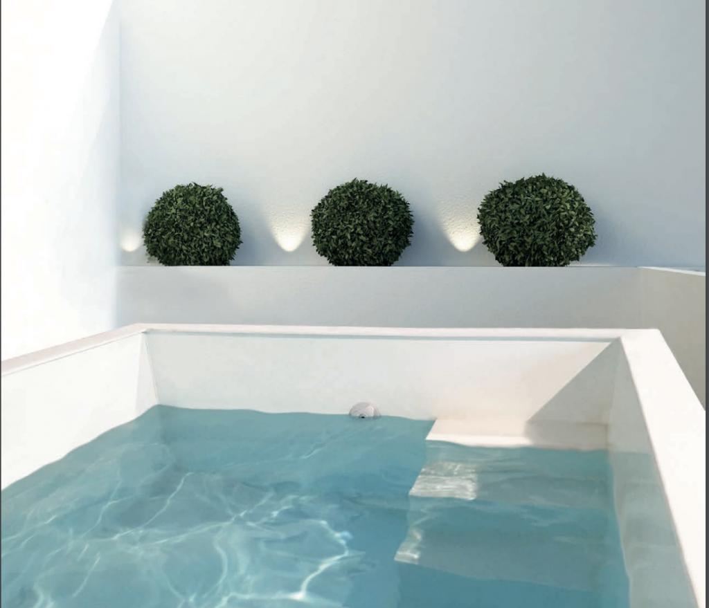 piscine petit jardin